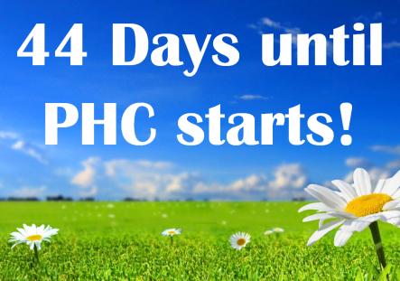 44 days to Phc
