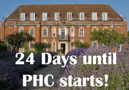 24 days til PHC1 blog