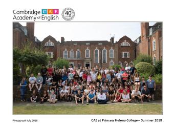 PHC 2018 Course Photo