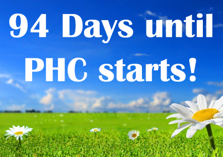 PHC Countdown 2019 daisys in field